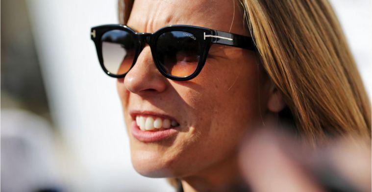 Brundle: 'Claire Williams kan beter een presidentiële rol vervullen'