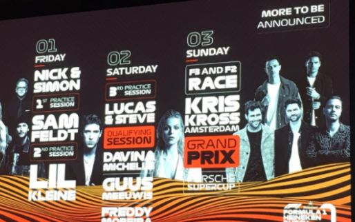 Line up Dutch GP bekend: Nick & Simon, Lil Kleine en Kris Kross