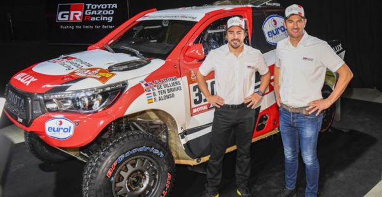 Alonso: If I decide to enter the Dakar again, it would be with high expectations