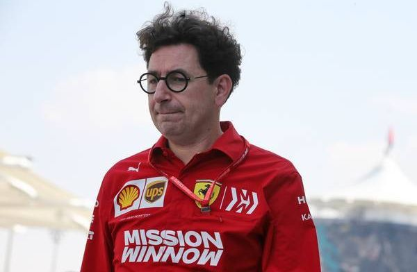 Mattia Binotto: We don't start to finish second