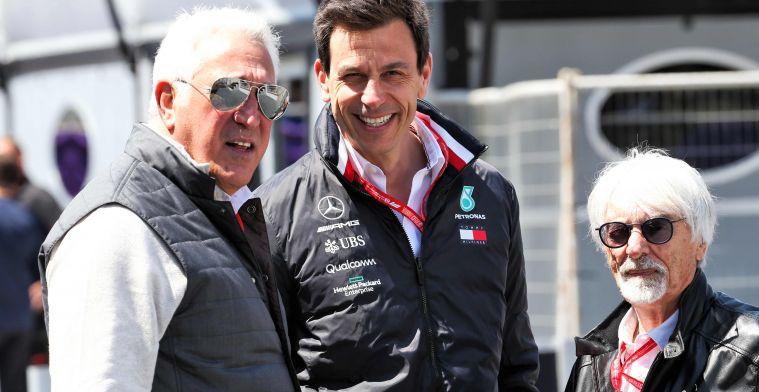 Mercedes in 2022 als Aston Martin op de grid? Wolff en Stroll smeden plan