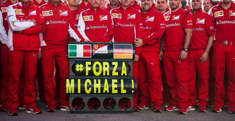 'Foto's van in bed liggende Schumacher aangeboden voor 1,2 miljoen euro'