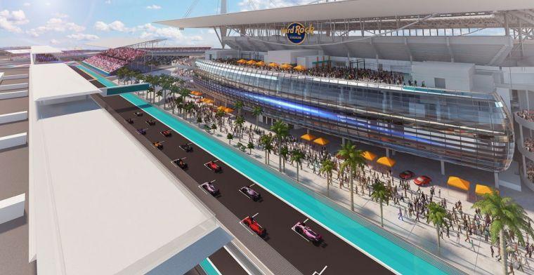 Organisatie GP Miami wijzigt layout voorafgaand aan belangrijke vergadering