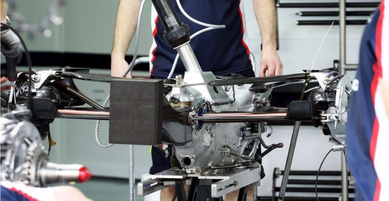 Een standaard versnellingsbak in de F1 is niet uitgesloten