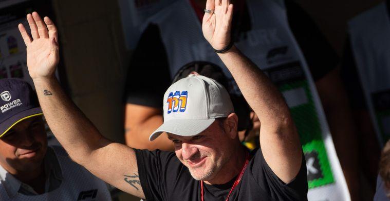 """Barrichello: """"Hij heeft misschien wel meer talent dan Senna en Schumacher"""""""
