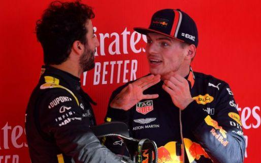 Verstappen over samenwerking in 2020: ''Het moet op die met Ricciardo lijken''