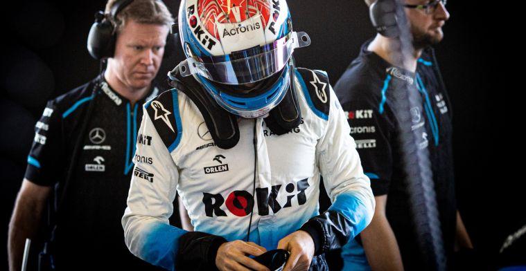 Latifi: Twee slechte jaren definiëren niet een team in Formule 1