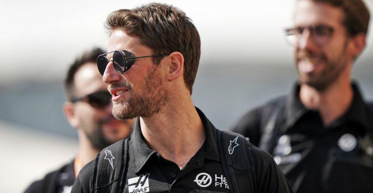 Grosjean: Soms gaan de auto's in F1 iets te ver, maar dat hoort erbij