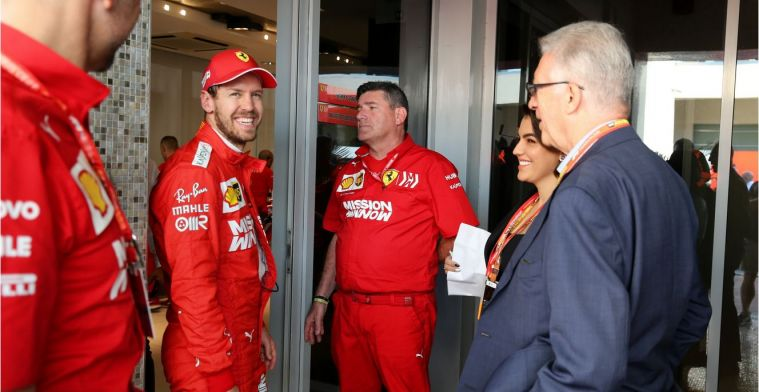Vettel: 'weg met de batterijen en verdubbel de cilinders'