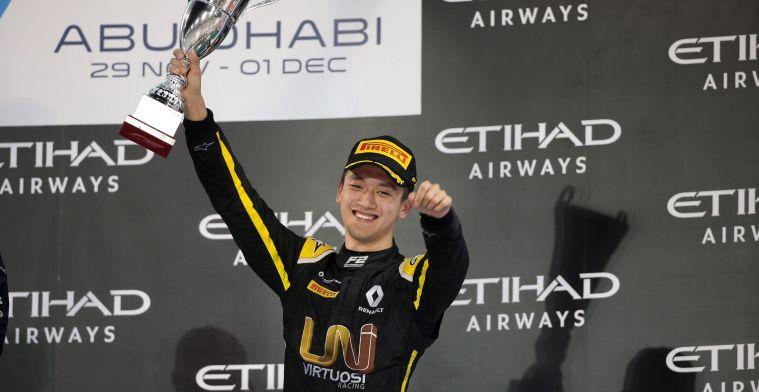Eén van de favorieten voor de F2-titel krijgt extra tijd van Renault