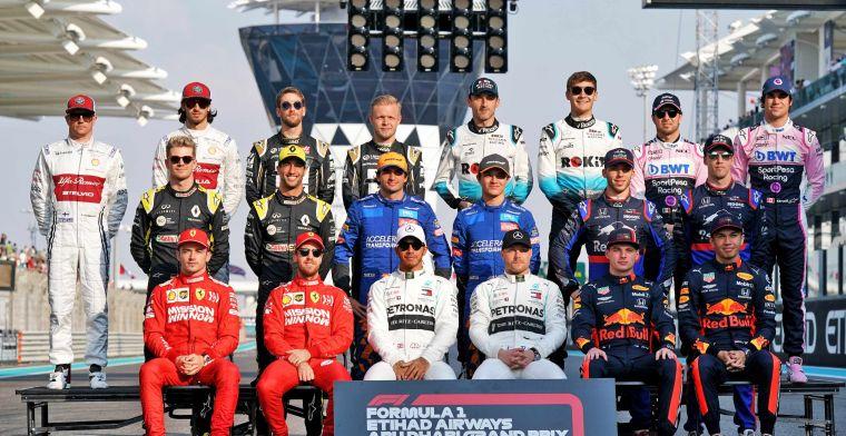 Overzicht: Op deze dagen worden de Formule 1-wagens van 2020 gepresenteerd