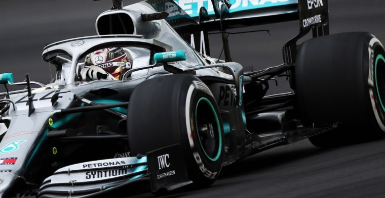 Will Mercedes new sponsorship deal lead to a livery change?