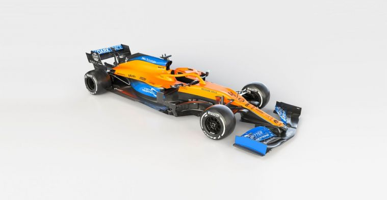 BREAKING: First pictures of the McLaren MCL35!