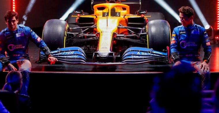 How does last season's McLaren compare to the MCL35?