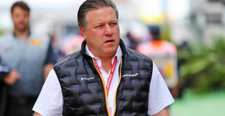 Zak Brown insists McLaren remain focused as they launch MCL35