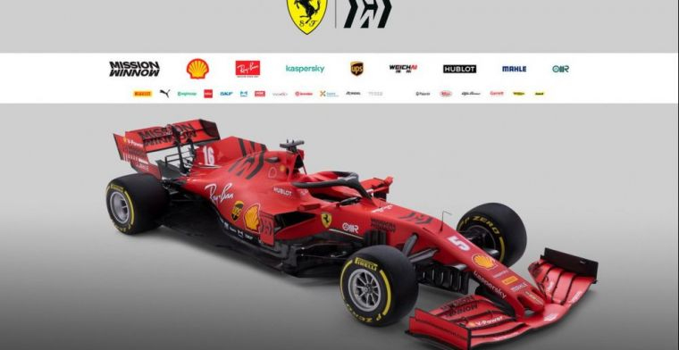 Ferrari set to be sued for 2020 livery!