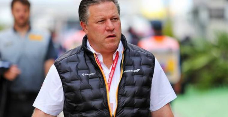 Zak Brown confident for 2020 but warns of great competition