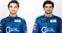 Afbeelding: McLaren toont de overalls van Norris en Sainz