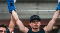 Afbeelding: Verstappen maakte in trainingsrondje indruk op professioneel wielrenner