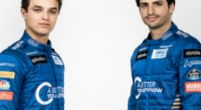Image: McLaren show off Carlos Sainz and Lando Norris in their new overalls