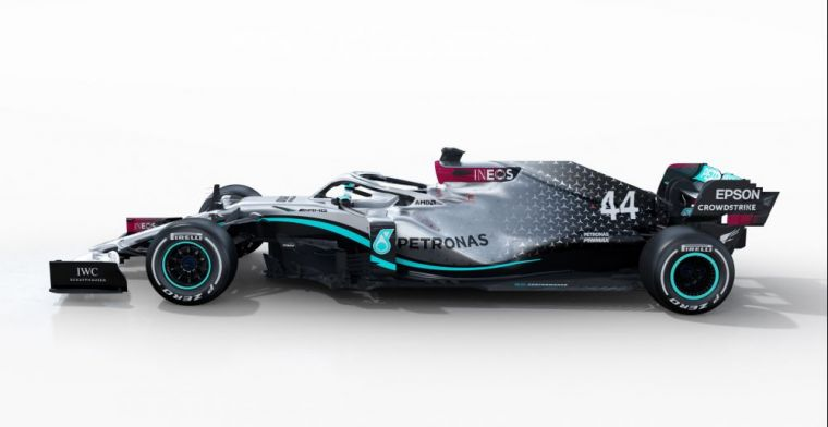 Mercedes won't change car before testing as they did in 2019!