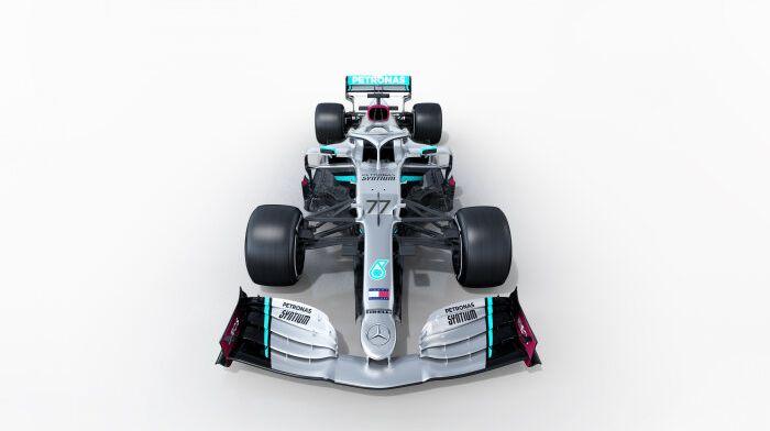 Mercedes onthult de nieuwe Formule 1-wagen van Lewis Hamilton