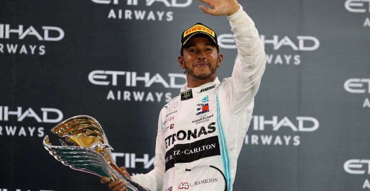 Lewis Hamilton: I really don't feel pressure ahead of the 2020 season