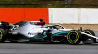 Image: First images of the Mercedes W11 out on track!