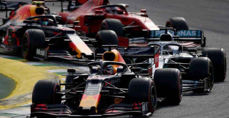 Red Bull en Mercedes hebben voordeel: Dat in één rol bij Ferrari, onmogelijk