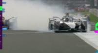 Afbeelding: De Vries crasht met landgenoot Frijns tijdens Formule E-race