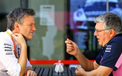 Opmerkelijke 'grap' tijdens presentatie Racing Point: 'Grosjean rijdt nog steeds'