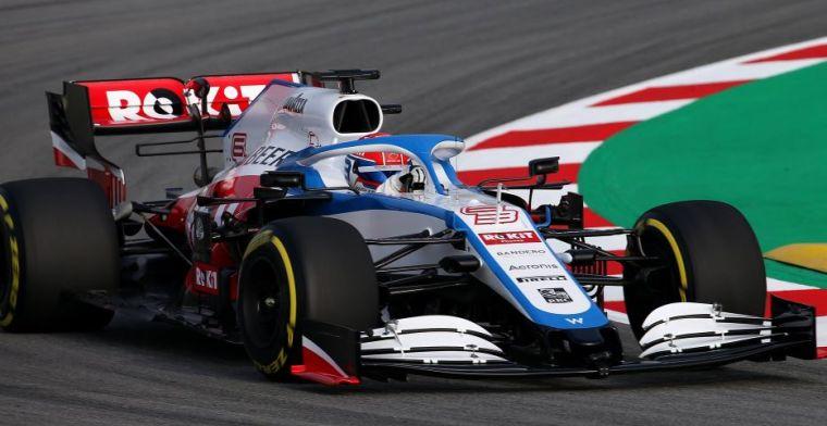Williams onthult de nieuwe FW43 van Latifi en Russell