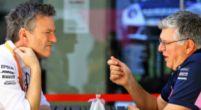 Afbeelding: Opmerkelijke 'grap' tijdens presentatie Racing Point: 'Grosjean rijdt nog steeds'