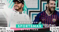 Afbeelding: Hamilton uitgeroepen tot Laureus Sportman van het Jaar