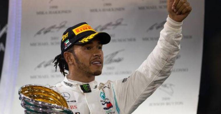 Lewis Hamilton wins Laureus Sportsman award