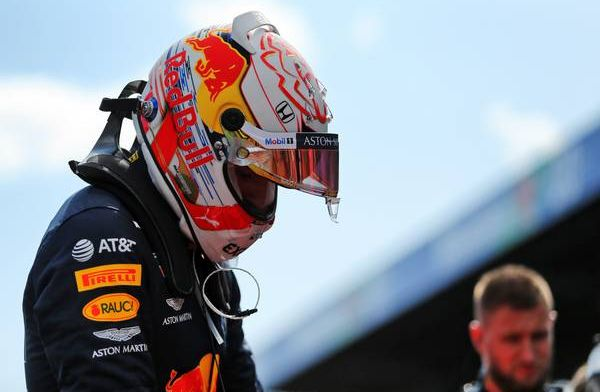 Watch: Verstappen has a wild spin during F1 testing