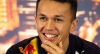 """Afbeelding: Albon onthult alvast: """"Verstappen is blij met de RB16"""""""