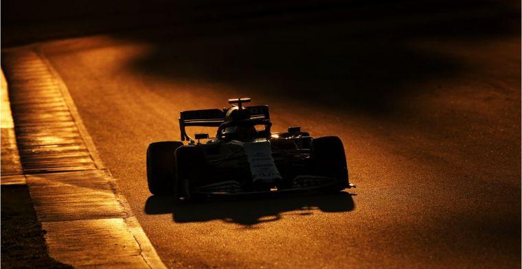 Samenvatting tweede testdag: Mercedes valt op en eerste code rood