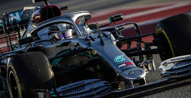 F1 wintertest lunchupdate 13:00 | Mercedes onder het vergrootglas door trucje