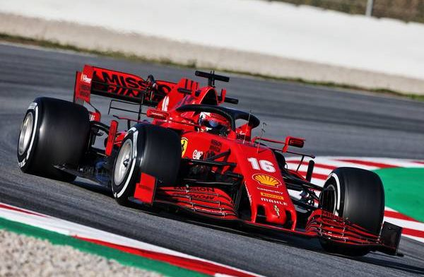 """Leclerc: Ferrari have """"changed a little bit"""" of their approach from last year"""