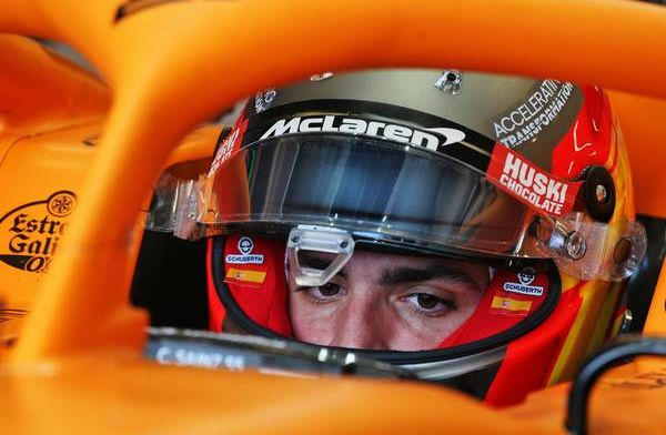 McLaren aiming to close gap to under 1 second on Mercedes says Sainz