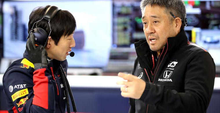 Honda lette op details: Motor zoveel mogelijk aangepast aan RB16