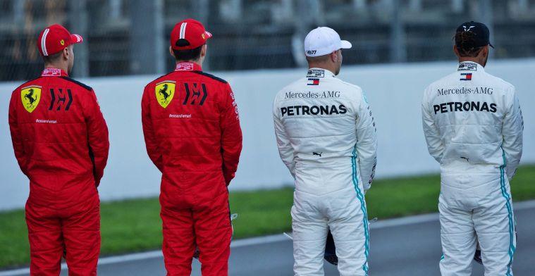 Mercedes imponeert op dag 1: ''Deze beginsituatie is natuurlijk top''
