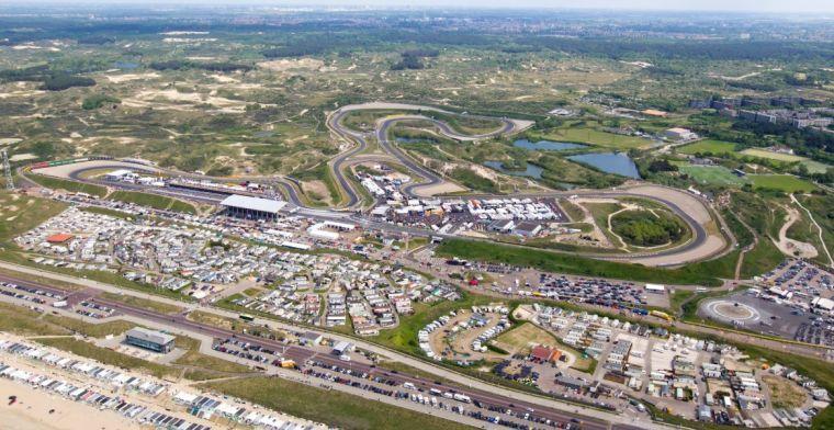 Circuit Zandvoort is klaar: de laatste laag asfalt ligt