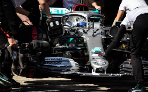 Combined timesheets after week 1 of testing: Chaos behind prominent Mercedes!