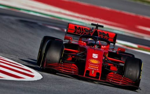 Ferrari and Sebastian Vettel dealt testing blow after engine issue