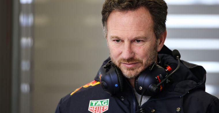 Horner is nog voorzichtig: ''Mercedes is duidelijk de favoriet''