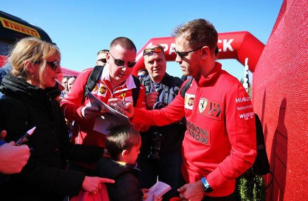 """Vettel on Ferrari's testing: """"We will only turn the engine up in Melbourne"""""""
