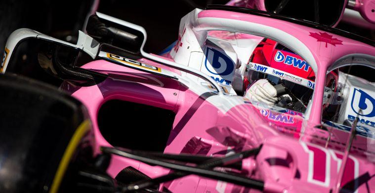 Perez kan vreugde niet verbergen: ''Hopelijk gaat hij dan net zo snel''