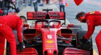 Afbeelding: Ferrari komt vrijdagochtend niet meer in actie door motorproblemen